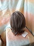 Парик каскад с пробором из термоволокна пепельно-русый микс 1919-RH12, фото 2