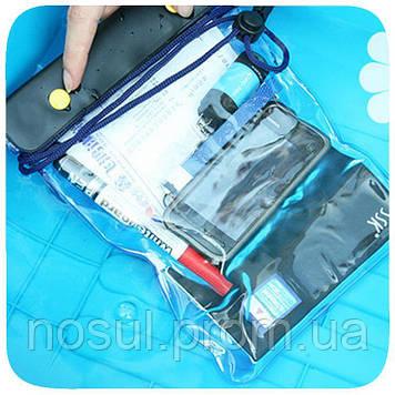 Водонепроницаемый чехол 170-200мм для планшетов, документов, электронных книг и др, шнурок