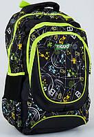 Детский школьный рюкзак с мягкой спинкой 44х33х20см.  Портфель, ранец для мальчиков  4,5,6,7,8 класс от 8 лет