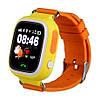 Детские телефон-часы с GPS трекером Smart Watch Q90 orange, фото 2