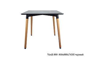 Стол Verdi 800, черный