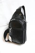 Сумка бананка мужская стильная модная кожзам размер 18x30, купить оптом со склада 7км Одесса