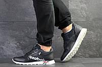 Чоловічі кросівки Reebok, артикул: 7552 темно сині з білим