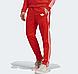 Демисезонные спортивные штаны для тренировок Adidas Adicolor Scarlett Red  (Адидас), фото 2