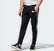 Тренировочные спортивные штаны Adidas Adicolor  Black (Адидас), фото 2