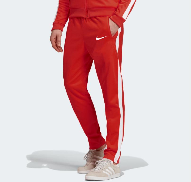 Мужские летние спортивные штаны Nike Red (Найк)