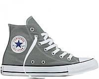 Женские кеды Converse All Star Chuck Taylor High Grey Реплика