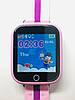 Детские умные смарт часы Smart Baby Watch Q100s с GPS трекером lilac, фото 3