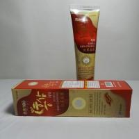 Зубная паста Korea Red Ginseng с натуральным экстрактом красного корейского женьшеня, 150 г
