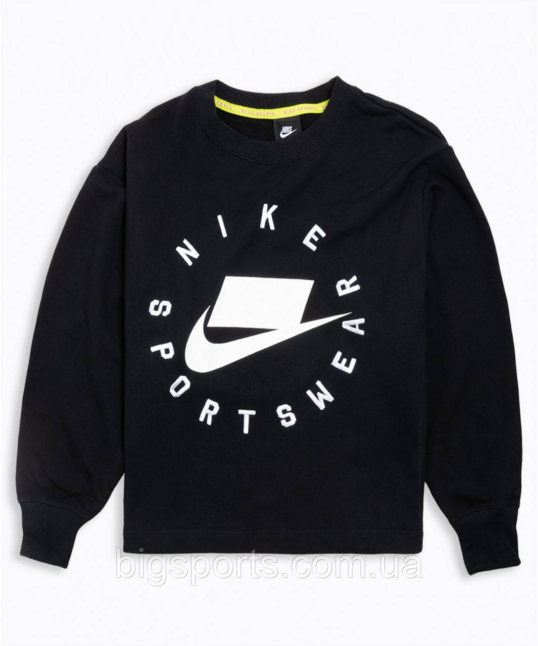Кофта жен. Nike W Nsw Nsp Crew Flc Ft Bf (арт. AR3052-010)