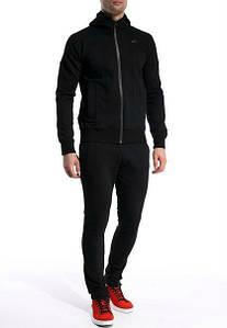 Чорний чоловічий спортивний костюм (Найк)