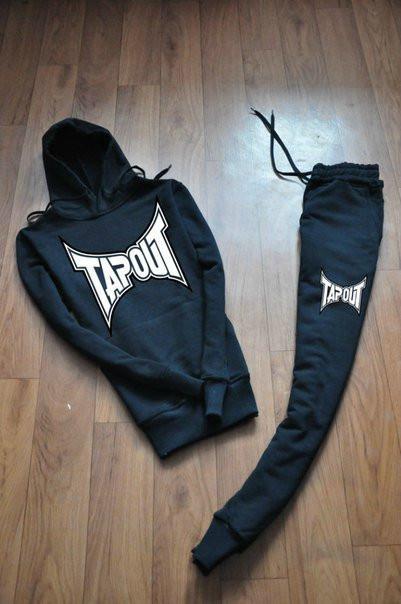 Спортивный мужской тренировочный  костюм Tapout (Тапаут)