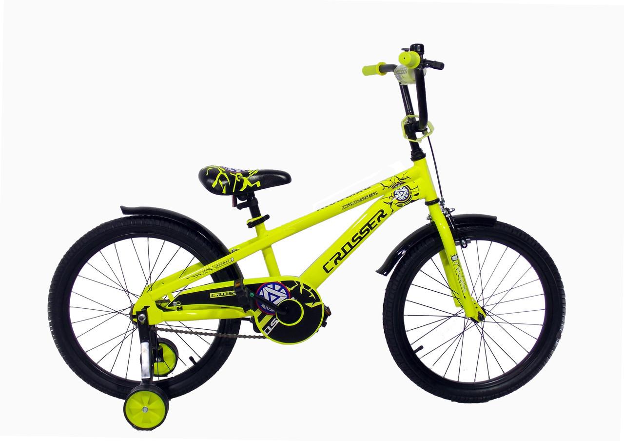 """Детский велосипед Crosser G960 IRON MAN 20"""""""