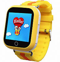 Детские умные смарт часы Smart Baby Watch Q100s с GPS трекером orange