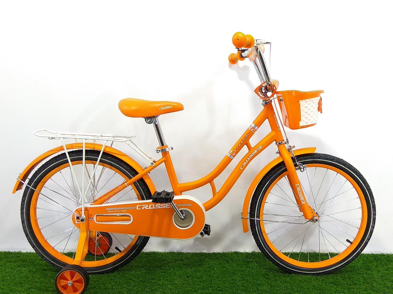 """Детский велосипед Crosser Eternal 18"""""""