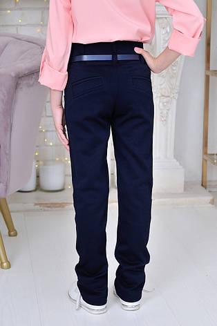 Школьная блузка для девочки р.6-14 лет розовая, фото 2