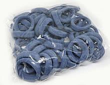 Резинка для волос светло-синяя