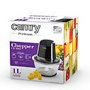 Чопер Camry CR 4066 со стеклянной чашей, емкость 1л, мощность 300вт, фото 6