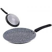 Сковорода блинная UNIQUE UN-5402-22 гранитное покрытие