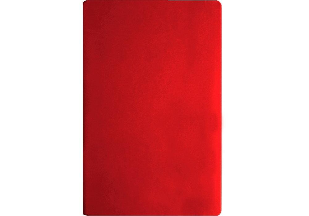 Ділова записна книжка А5, Optima Vivella, тверда обкладинка, неліновані, червона