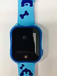 Smart baby watch A32 Детские умные часы blue, фото 9