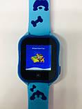 Smart baby watch A32 Детские умные часы blue, фото 6