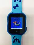 Smart baby watch A32 Детские умные часы blue, фото 4