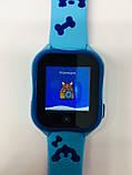 Smart baby watch A32 Детские умные часы blue, фото 5