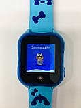 Smart baby watch A32 Детские умные часы blue, фото 7