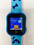 Smart baby watch A32 Детские умные часы blue, фото 3