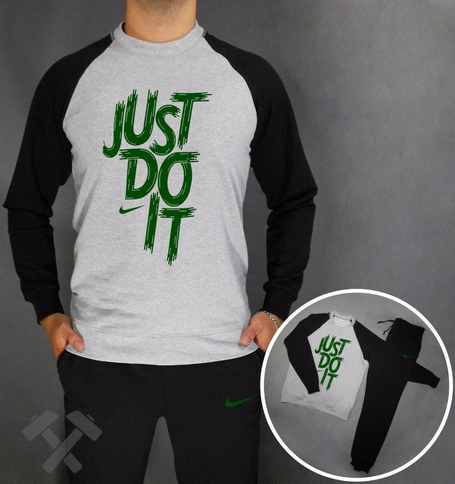 Тренировочный мужской летний споривный костюм Nike (Найк)