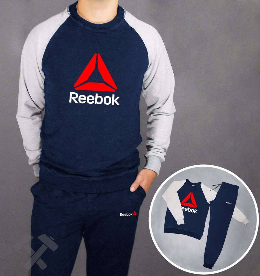 Літній чоловічий спортивний костюм для тренувань Reebok(Рібок)
