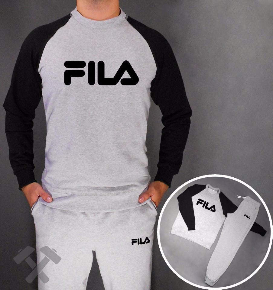 Спортивный мужской летний  костюм Fila (Фила)