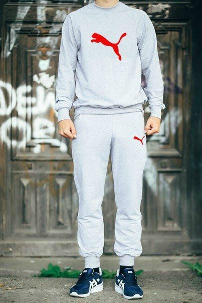 Спортивный мужской летний  костюм Puma (Пума)