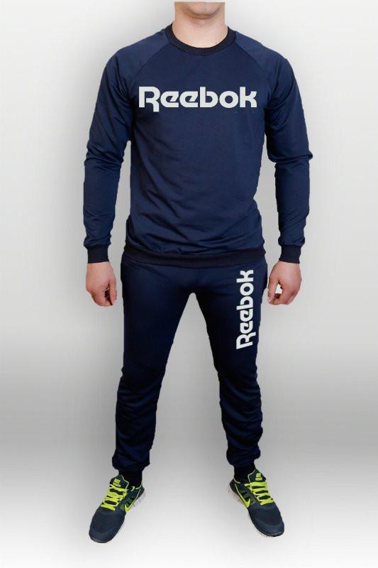 Летний мужской спортивный костюм для тренировок Reebok(Рибок)
