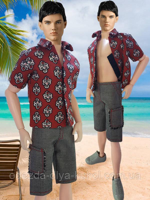 Одежда для Кена - тенниска и шорты