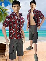 Одежда для Кена - тенниска и шорты, фото 1