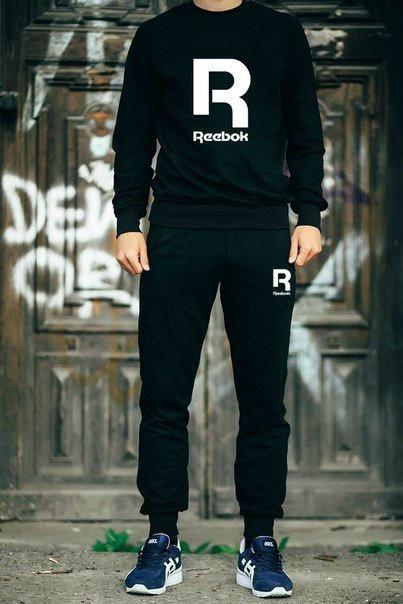Чоловічий спортивний костюм реглан Reebok(Рібок)