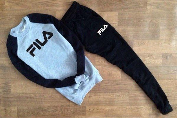 Летний мужской спортивный костюм для тренировок  Fila (Фила)
