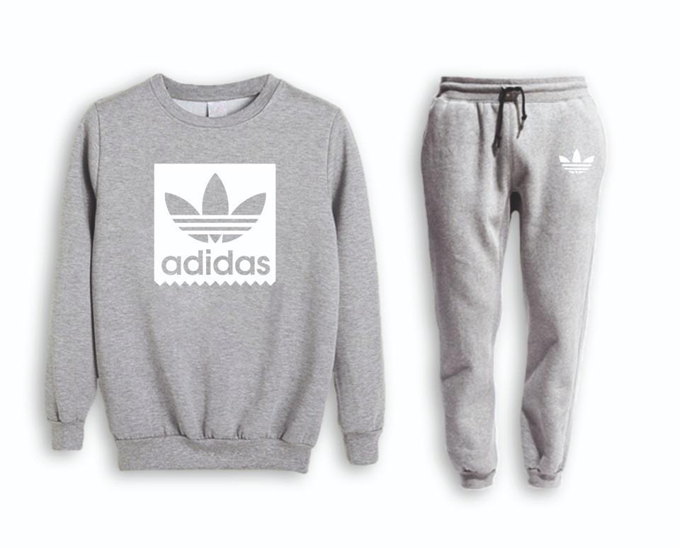 Мужской тренировочный спортивный костюм реглан Adidas (Адидас)