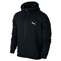 Спортивная толстовка на молнии Puma, черная