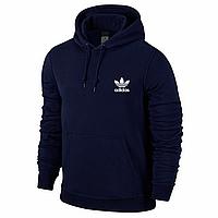 Спортивная мужская кофта Adidas, синяя