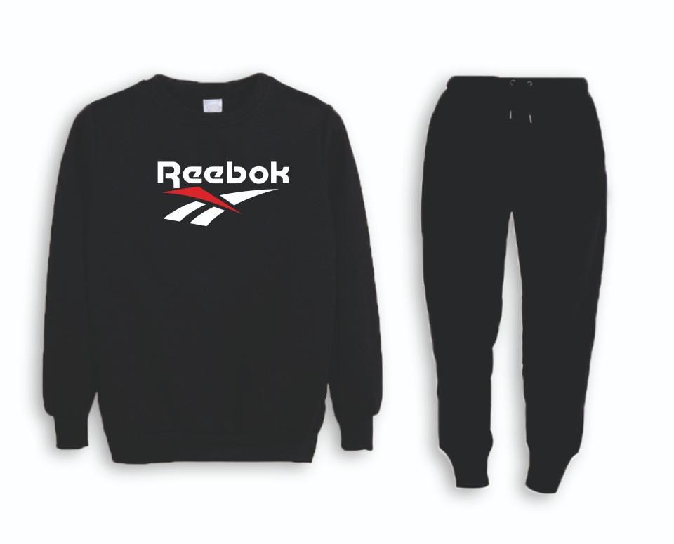 Мужской тренировочный спортивный костюм реглан Reebok(Рибок)