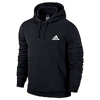 Спортивная кофта кенгуру Adidas, черная