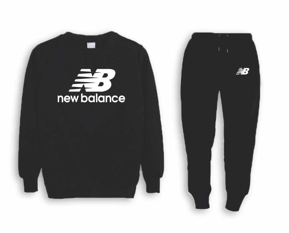 Мужской тренировочный спортивный костюм реглан New Balance (Нью Беленс)