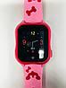 Smart baby watch A32 Детские умные часы pink, фото 5