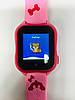 Smart baby watch A32 Детские умные часы pink, фото 7