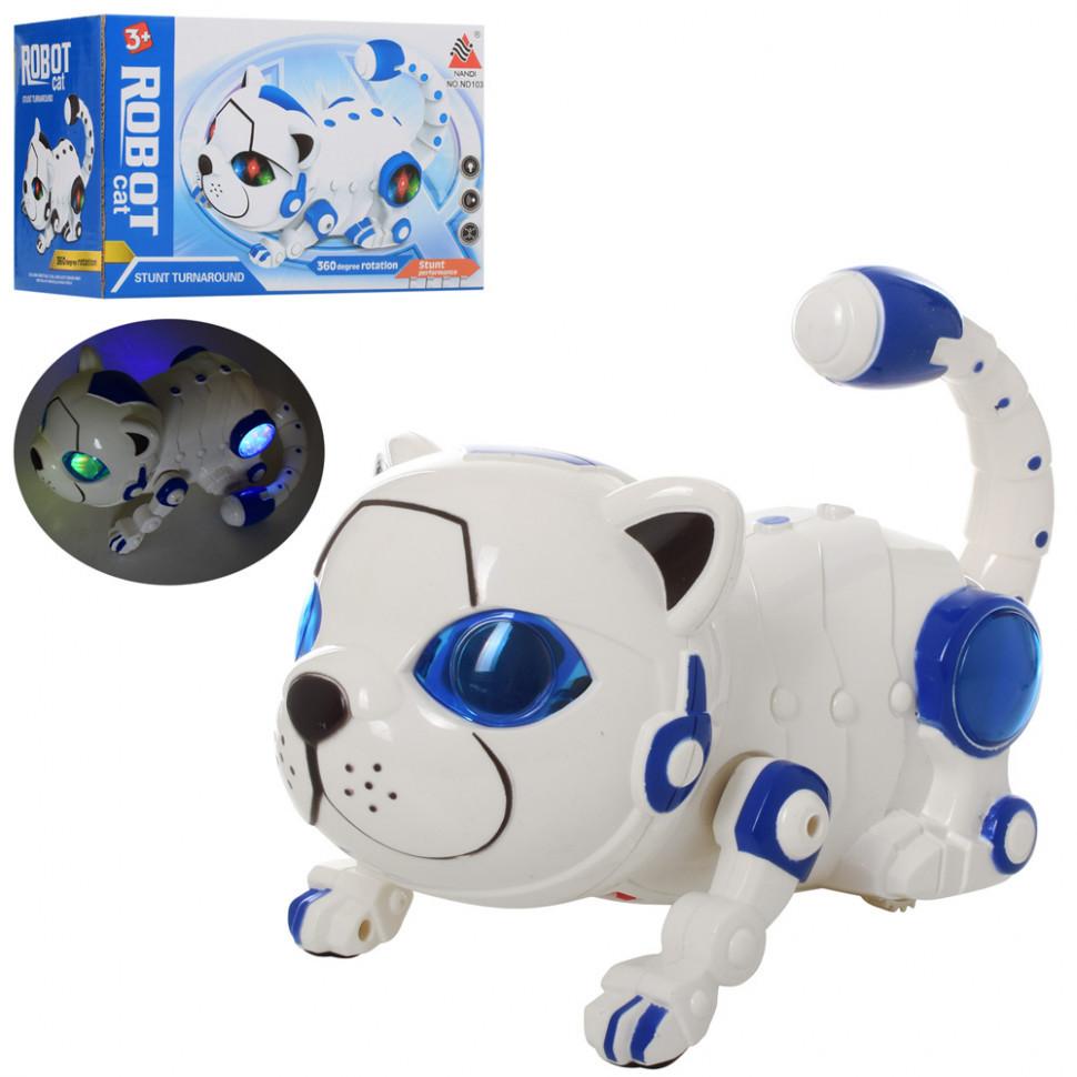 Кот интерактивный Robot Cat (ND103) 22,5 см