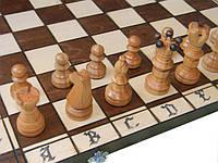 Деревянные шахматы 54 x 54 см. Амбассадор