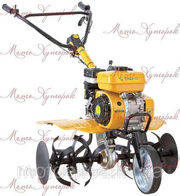 Мотокультиватор бензиновый Sadko М-500PRO мощность 6,5 л.с.